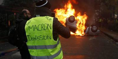 Weer duizenden agenten in Parijs om protesten
