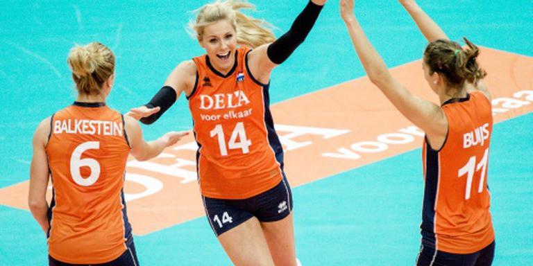 Volleybalsters weer op jacht naar ticket Rio