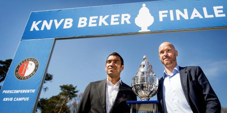Feyenoord hunkert naar succes in bekerfinale