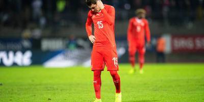 Zwitserse voetballers verliezen van Qatar