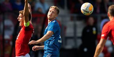Jørgensen traint weer mee bij Feyenoord
