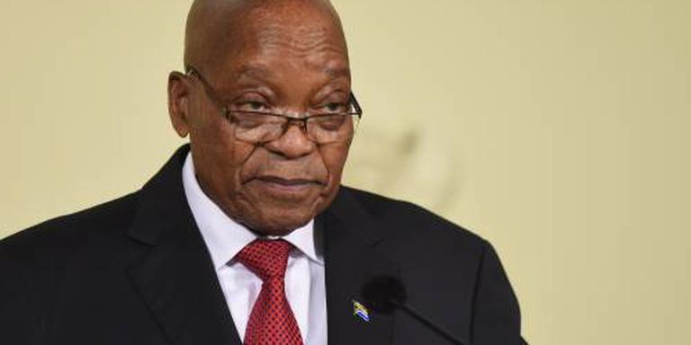 Zuma treedt af als president Zuid-Afrika