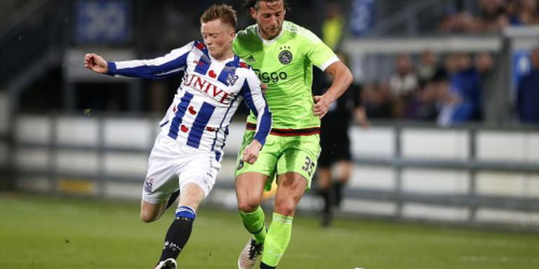Larsson onzeker voor bekerduel sc Heerenveen