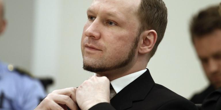 Justitie verwerpt protest Anders Breivik