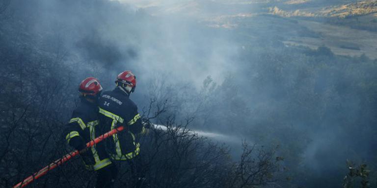 Gewonden door natuurbranden Zuid-Frankrijk