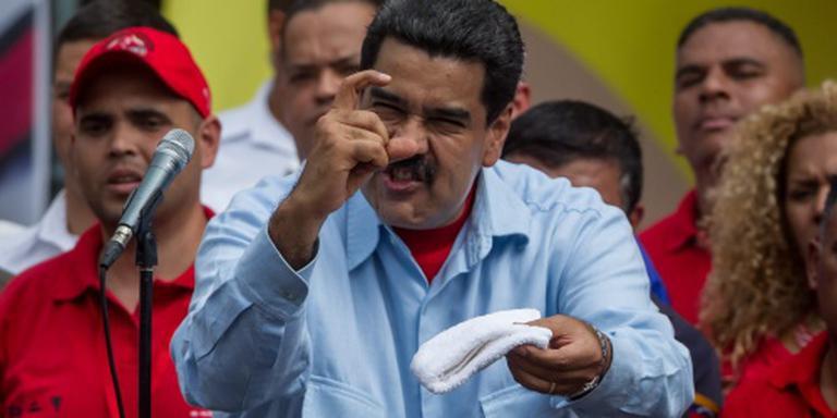 Klacht president Venezuela tegen oppositie