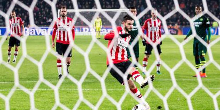 PSV benut weer eens een strafschop