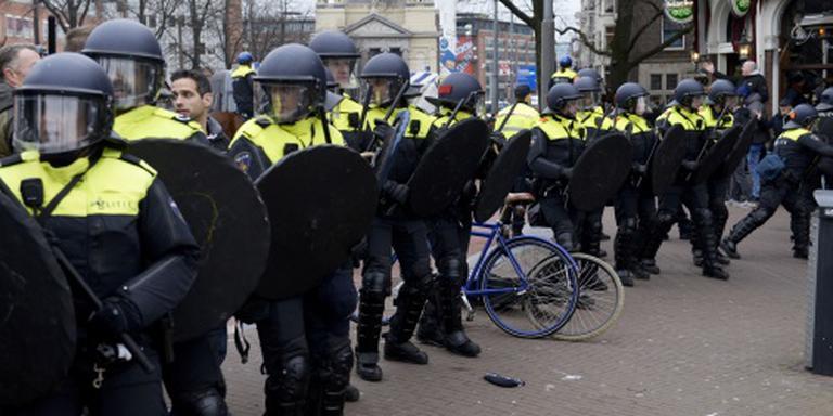 Aanhoudingen bij onrustige demonstratie Pegida