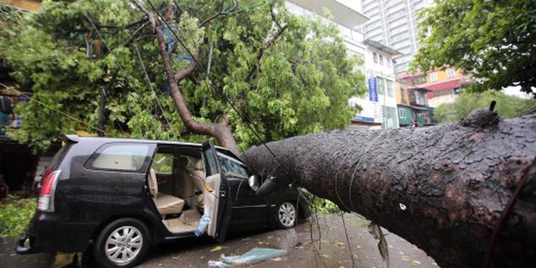 Elf doden door tyfoon in Vietnam