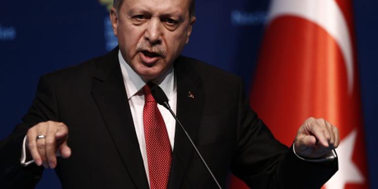 Erdogan veroordeelt VS-steun Koerden