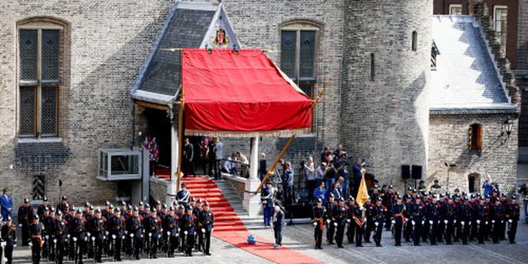 Koning op weg naar Ridderzaal
