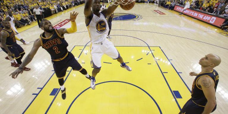 Warriors openen finale NBA met winst