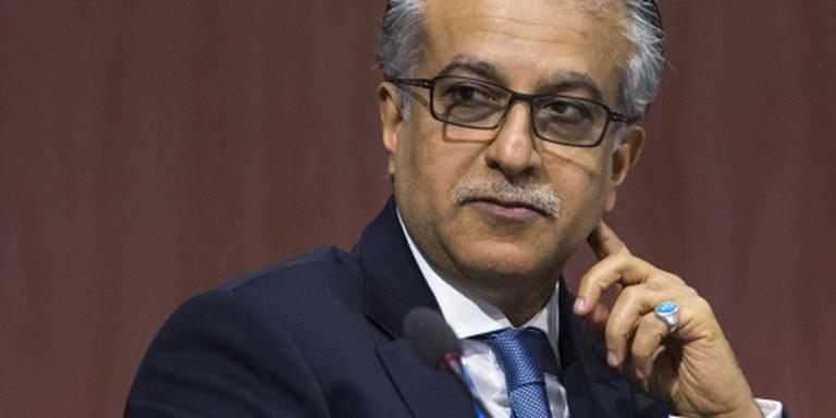 Sjeik Salman favoriet voorzitterschap FIFA