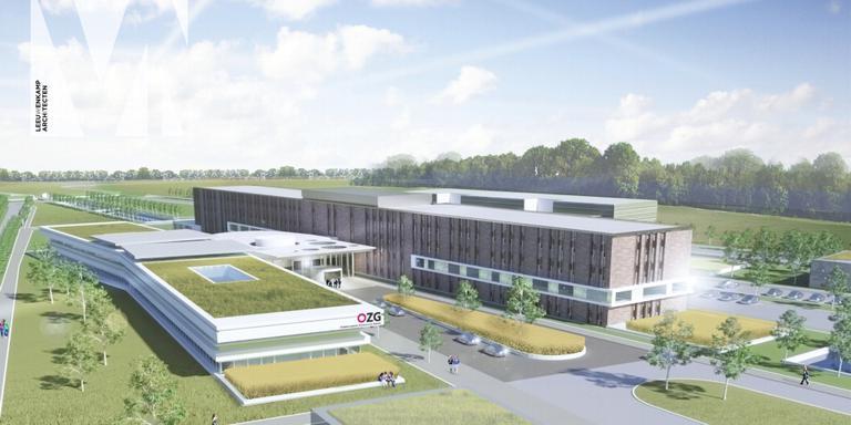 Nieuw ziekenhuis OZG. FOTO DVHN