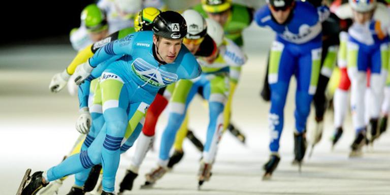 Schaatser De Vries wint marathon Groningen