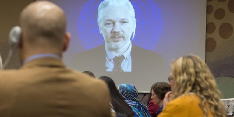 Assange: uitspraak VN-werkgroep wel bindend
