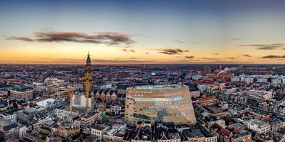Forum Groningen gaat vrijdagmiddag open. Foto: Deon Prins