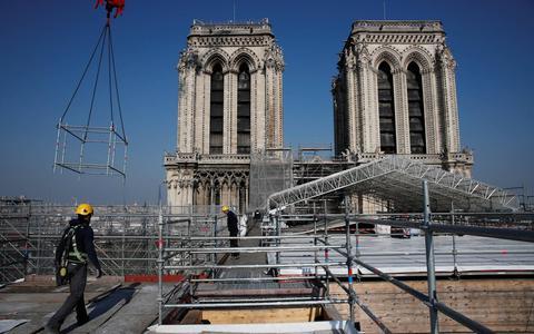 Ruim 840 miljoen euro binnen voor restauratie Notre-Dame