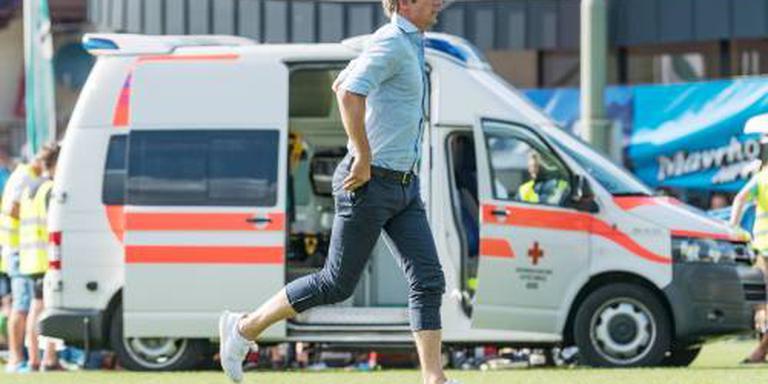 Ajax-speler Nouri onwel tijdens oefenduel
