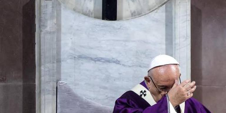 Paus: geen luxe meer na pensioen