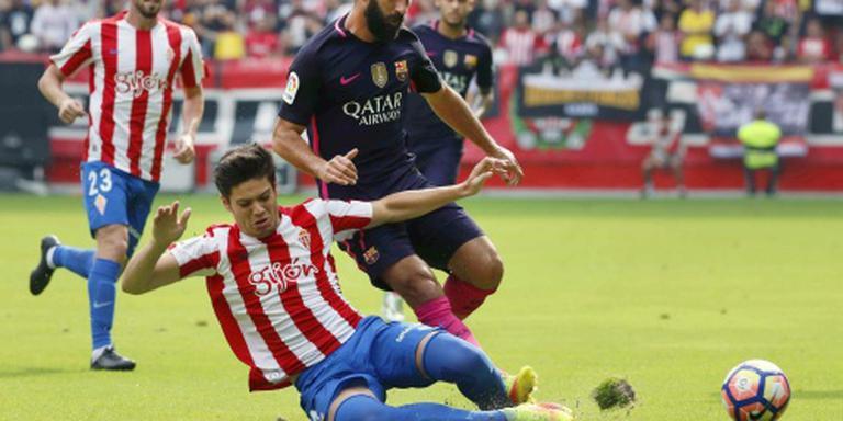 Soepele zege Barcelona zonder Messi