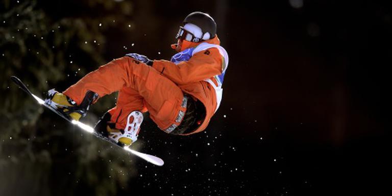 Snowboarder Van der Wal stopt