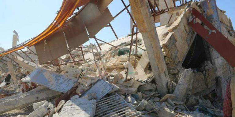Doden door luchtaanvallen Aleppo