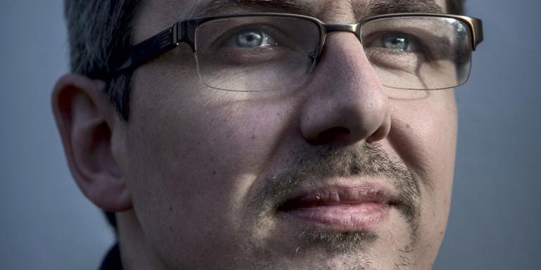 """Kerkenkenner Justin Kroesen: ,,We moeten in dit land alles zo nodig steeds opnieuw uitvinden."""" Foto Corné Sparidaens"""