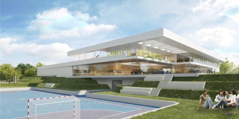 Amsterdammers ontwerpen sportcomplex Europapark