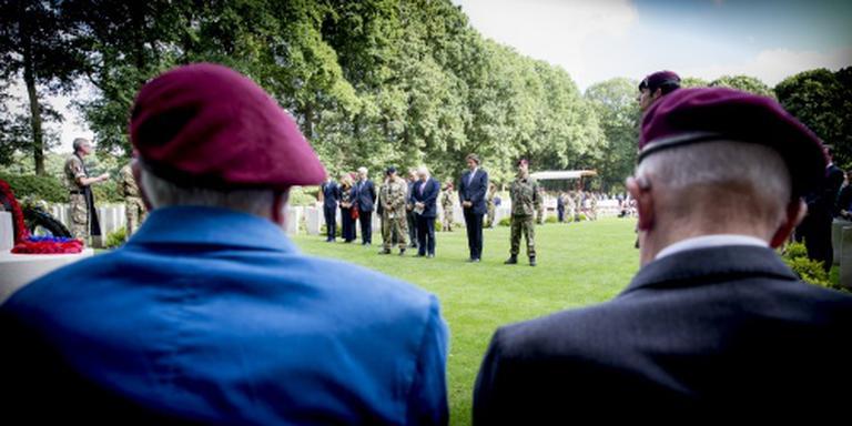 Duizenden mensen bij herdenking Oosterbeek