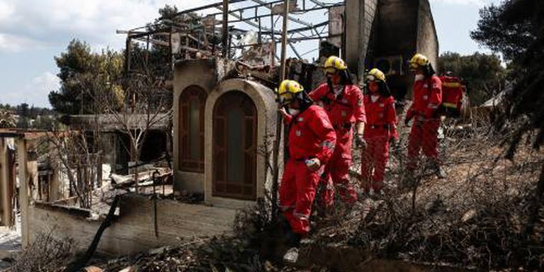 Griekenland zoekt naar vermisten na inferno