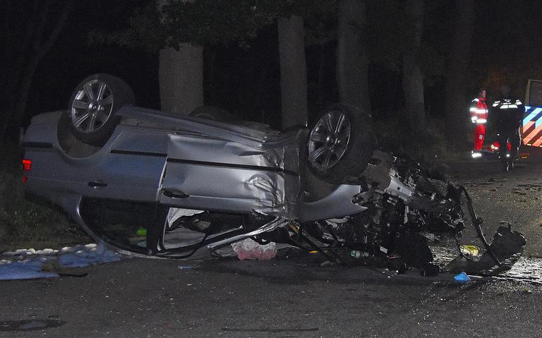 Automobilist overleden na zwaar ongeval bij Ruinen.