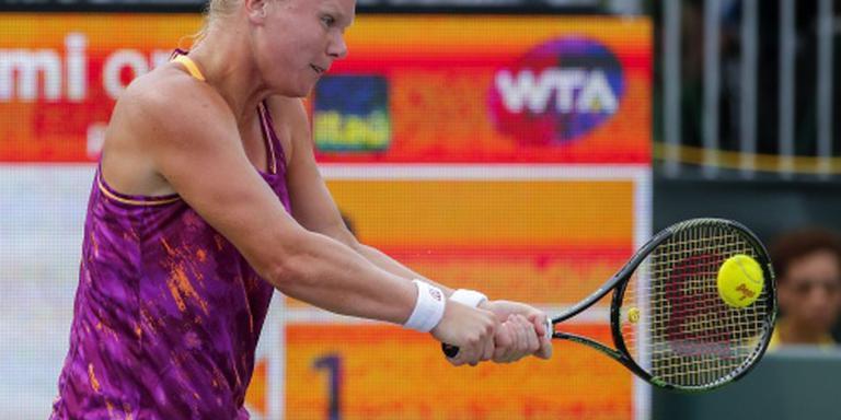 Tennisvrouwen op jacht naar finaleplaats