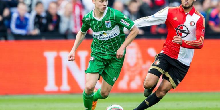 PEC Zwolle rest van seizoen zonder Dekker