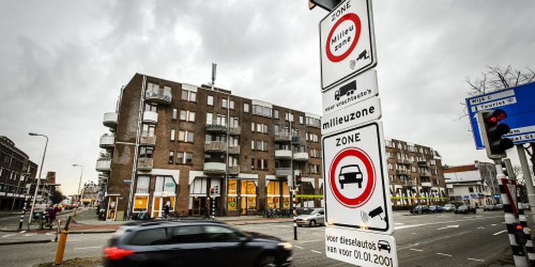 260 boetes milieuzone Utrecht kwijtgescholden