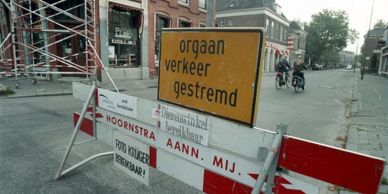 Stationsstraat Assen weer afgesloten