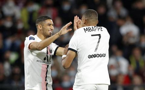 Paris Saint-Germain wint ver in extra tijd bij Metz