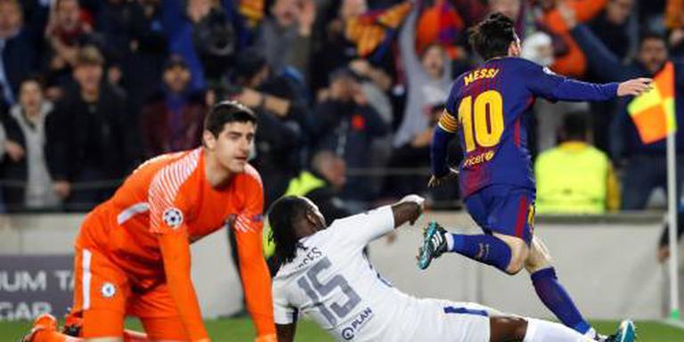Courtois bekent schuld in Barcelona
