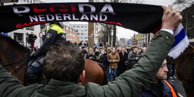 Arrestaties Enschede bij betoging tegen azc