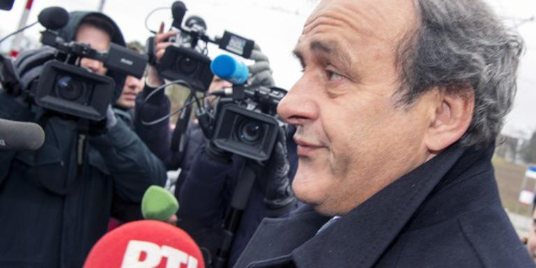 Platini is zich van geen kwaad bewust