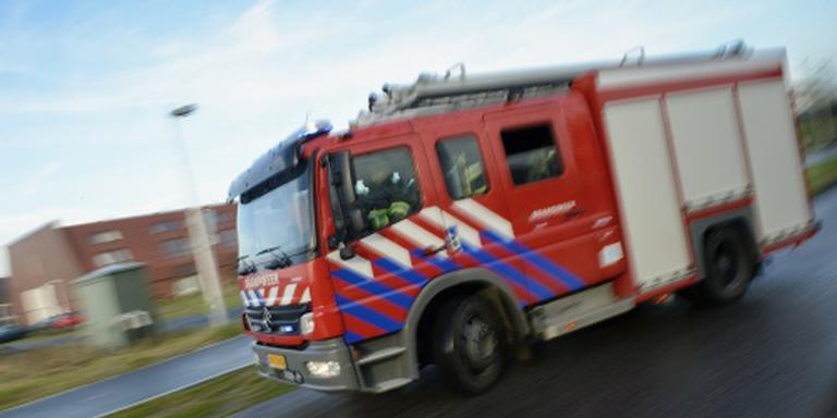 Omgeving afgezet na brand Groningen
