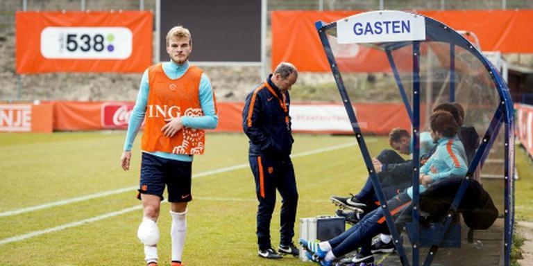 Letschert traint weer mee met Oranje