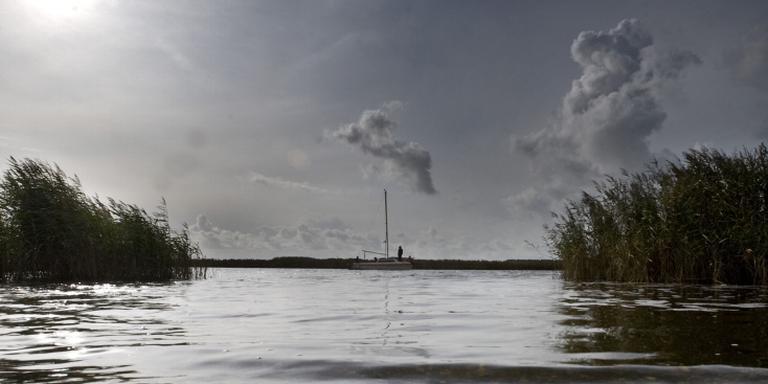 Akkerbouwers tegen verhoging peil Lauwersmeer