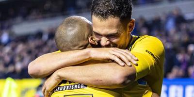 NAC Breda wint 1e duel zonder Van der Gaag