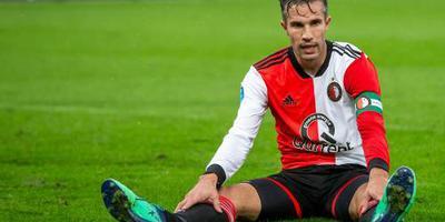 Van Persie bezorgt Feyenoord winst op Utrecht
