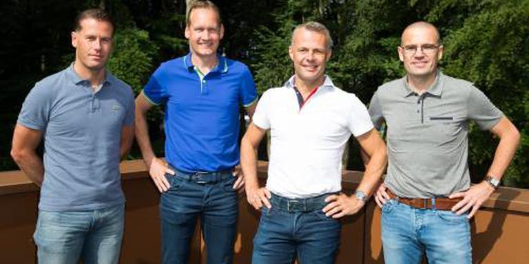 Team Kuipers in actie op eerste volle WK-dag