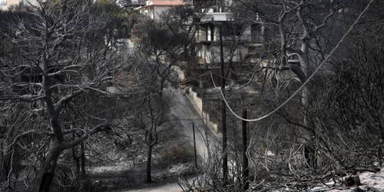 Dodental Griekse bosbranden nu 93