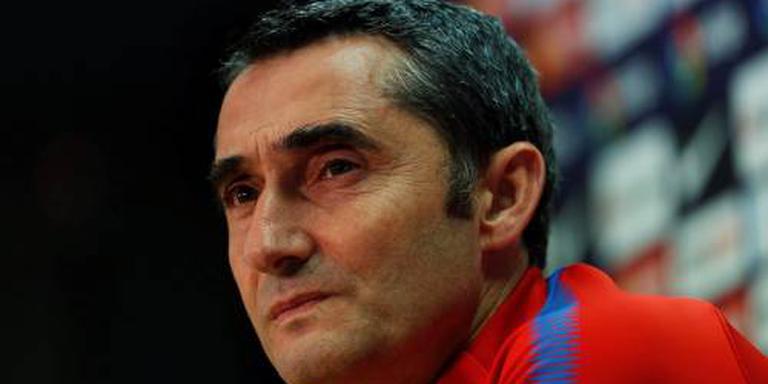 Barça laat kopstukken thuis