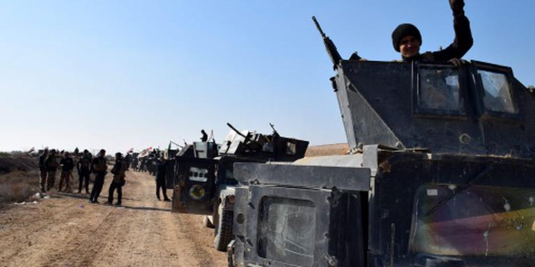 IS verdedigt Ramadi tegen Iraakse troepen
