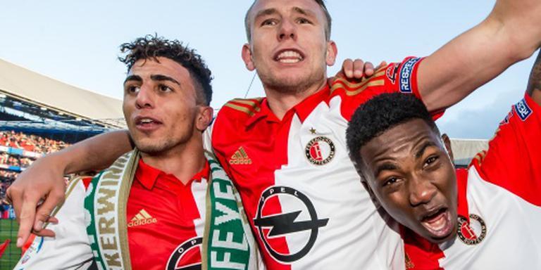 Rotterdam huldigt Feyenoord